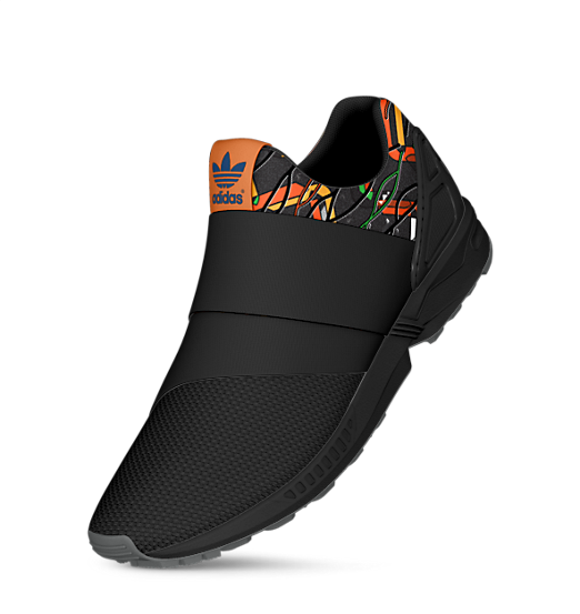 Shop the mi ZX Flux slip on - graphics of the world at adidas.com
