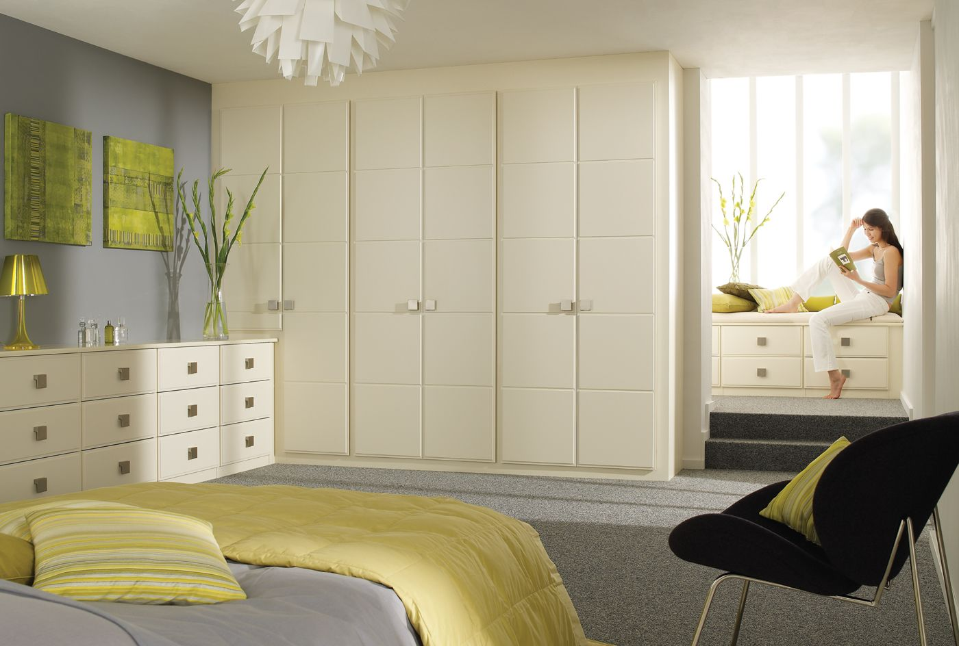 Built In Bedroom Furniture Designs Linea Cream Bedroom Furniture & Wardrobes From Sharps  To Sleep