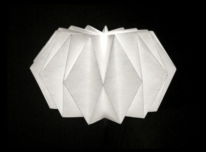 origami lampe faltanleitung my blog. Black Bedroom Furniture Sets. Home Design Ideas