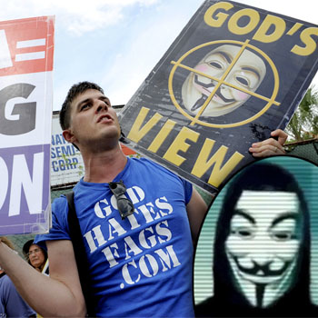 Anonymous Vows To 'Destroy' Westboro Baptist Church Over Plan To Picket Sandy Hook Funerals, 'We Know Where You're Sleeping'
