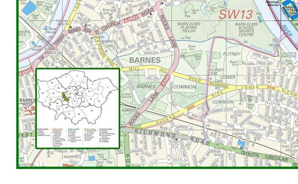 Hammersmith Fulham London Borough Map Pinterest Fulham