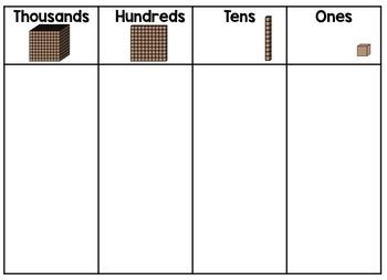 Place Value Mats Freebie Teaching Place Values Place Values