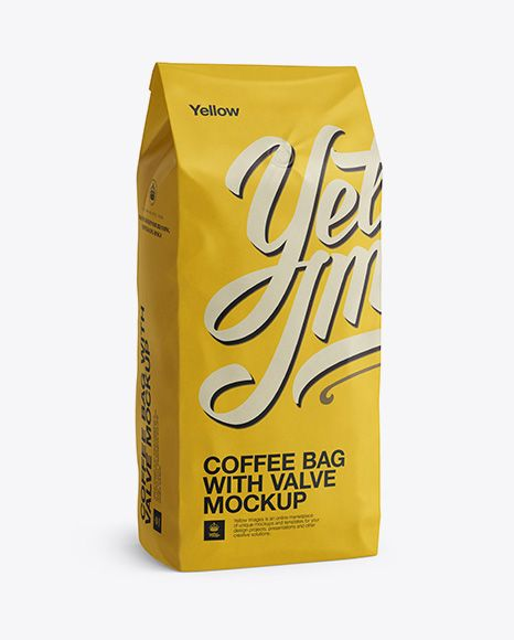 Download 2 5 Kg Coffee Bag With Valve Mockup Half Turned View In Bag Sack Mockups On Yellow Images Object Mockups Mockup Free Psd Mockup Psd Mockup Free Download