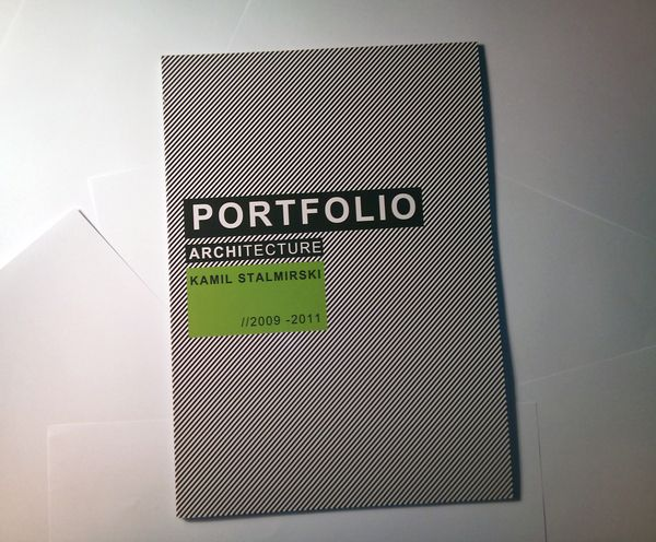 portfolio design i love that this is also for architecture