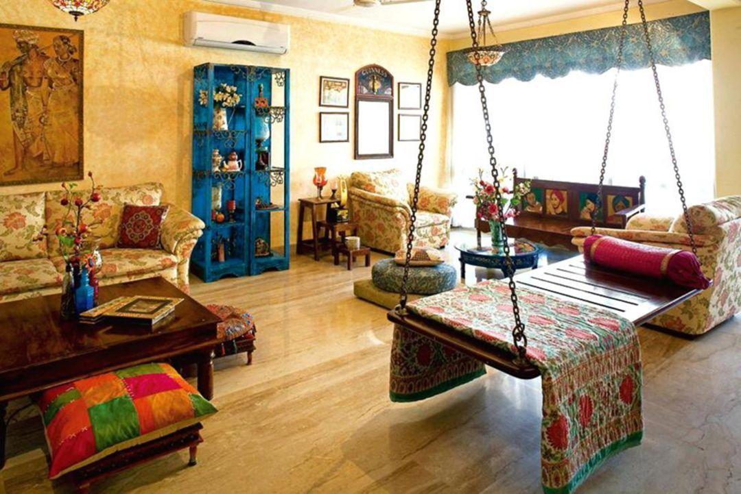 Baithak Living Room 7   Country style living room decor ...