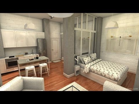 YouTube   casa pequeña   Pinterest   Wood windows, Small living and ...