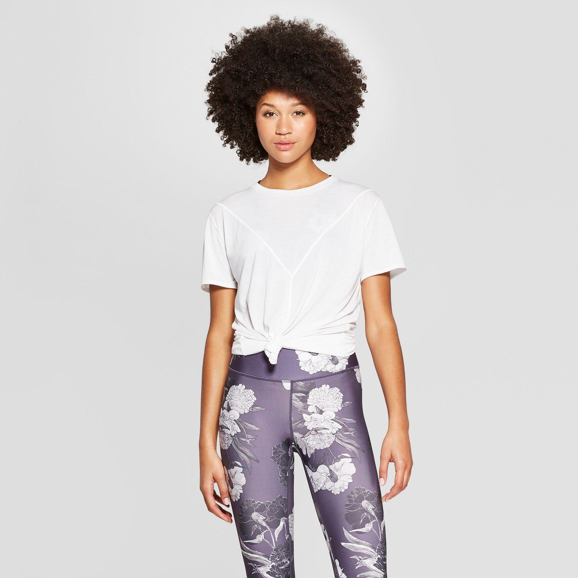 49acd697 Women's Mesh Back T-Shirt - JoyLab White Xxl in 2019   Products ...