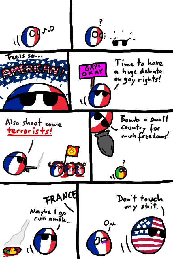 Polandball News: France news synopsis