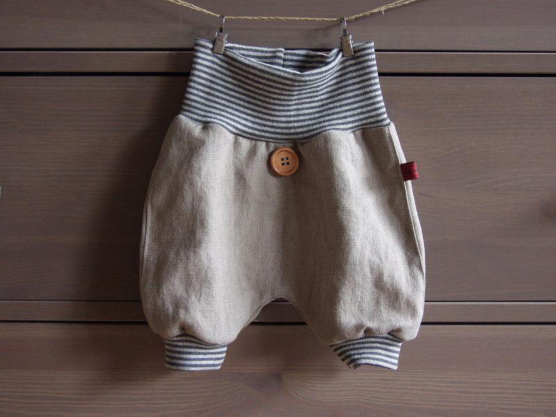 Pumphosen - Leichte kurze Hose aus Leinen für den Sommer ...