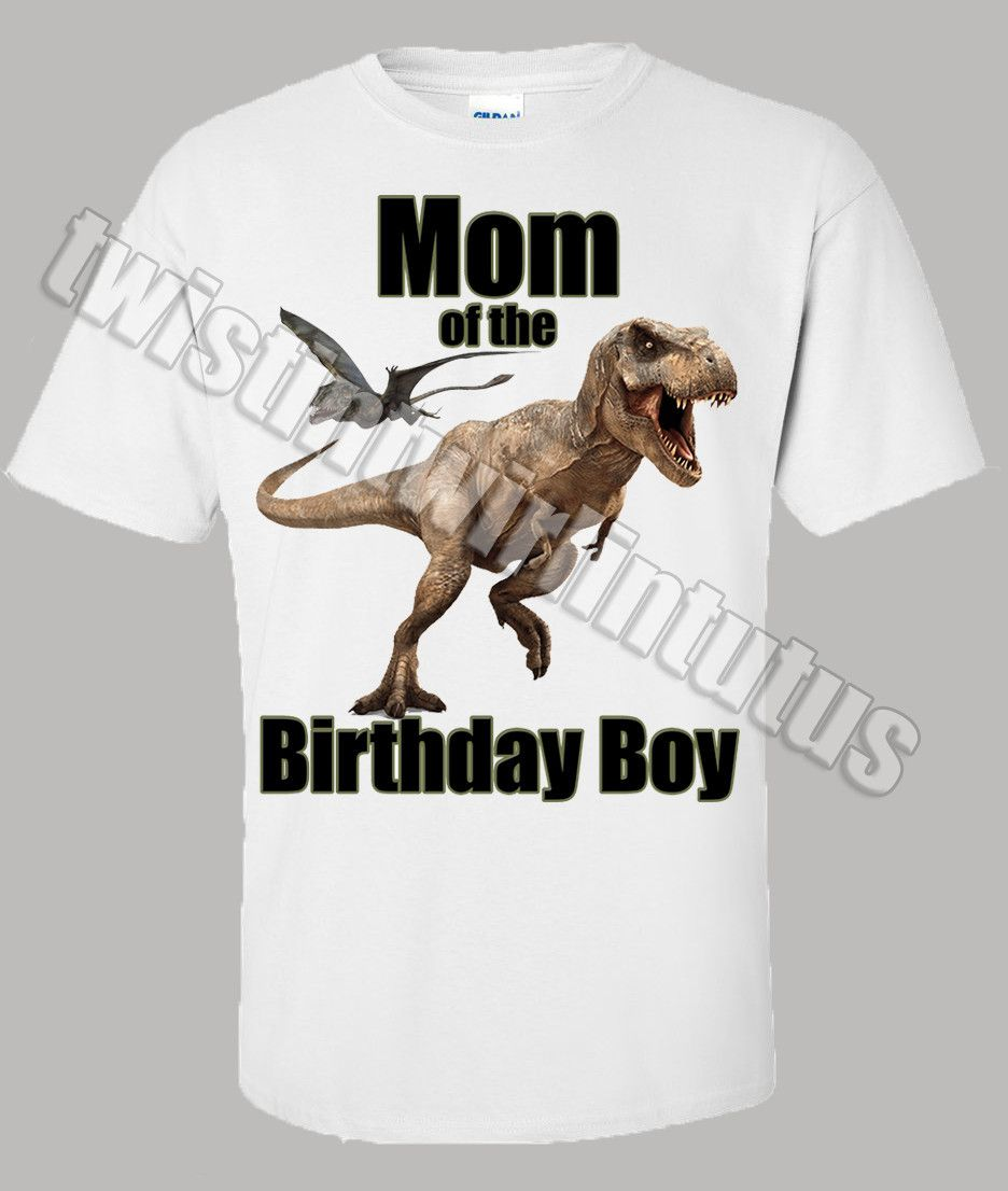 ba3eafeccad Jurassic World Dinosaur Birthday Shirt | Party Ideas | Dinosaur ...