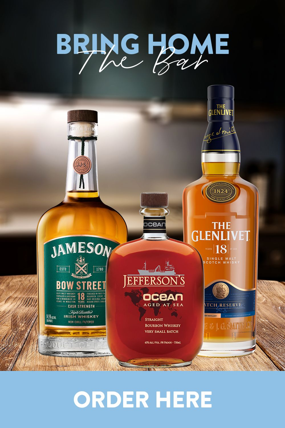 Get the home bar essentials delivered straight to your door. Stock up now. Cheers!