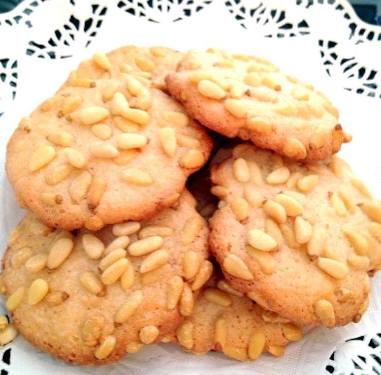 1 dz Italian Pignoli (Pine nut) Cookies by CakedOutNY on Etsy https://www.etsy.com/listing/488778308/1-dz-italian-pignoli-pine-nut-cookies