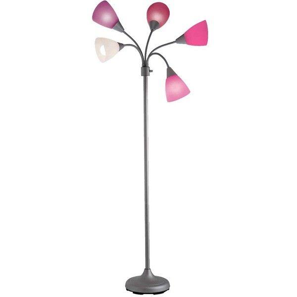 Room Essentials Pink Floor Lamp 5 Head Target 40 Liked On