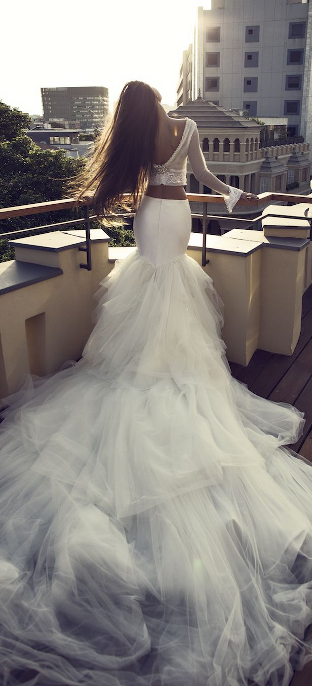 Bridal trends two piece wedding dresses bridal collection