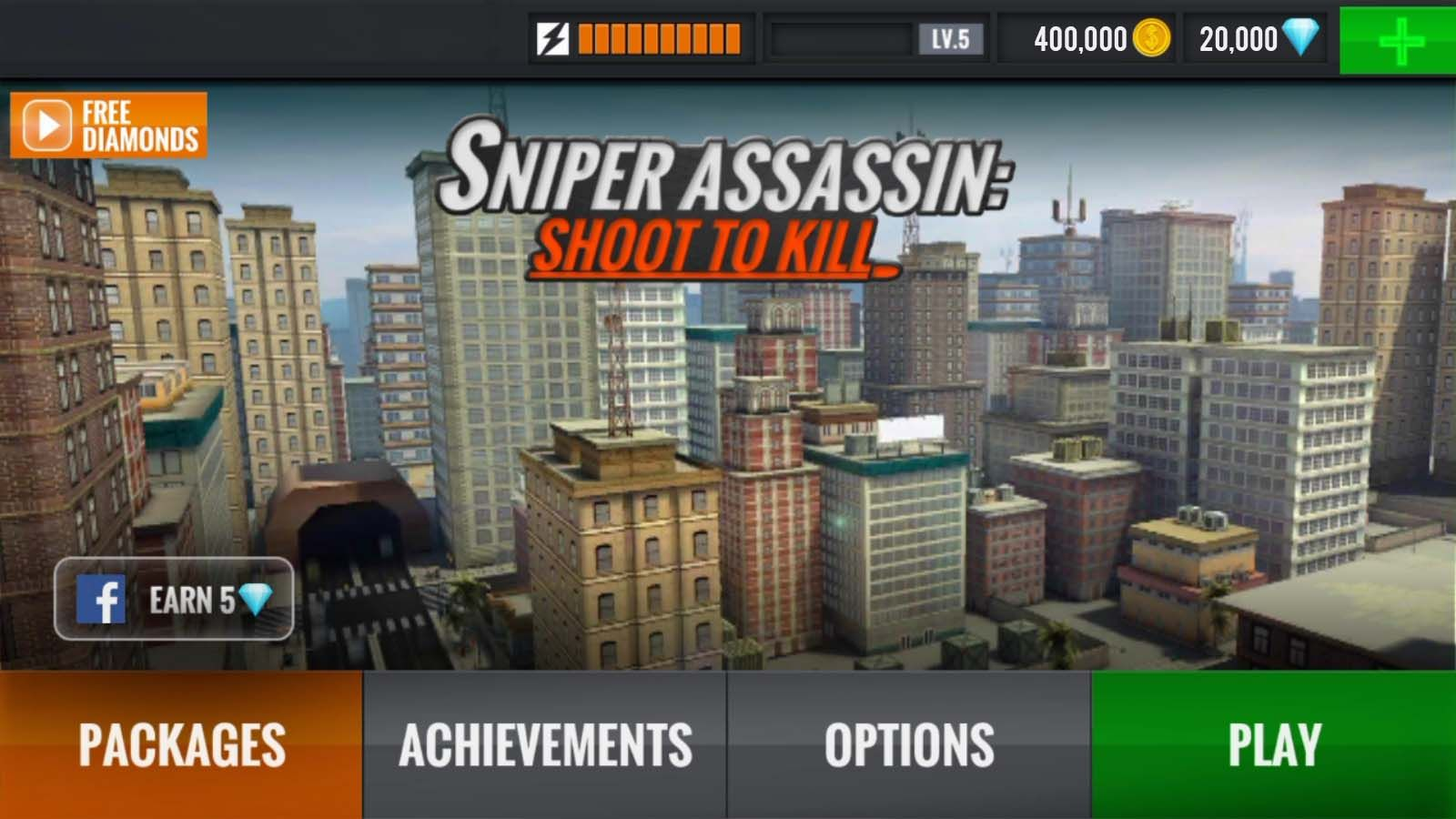 Sniper 3D Assassin Shoot to Kill Hack Cheats | Sniper in