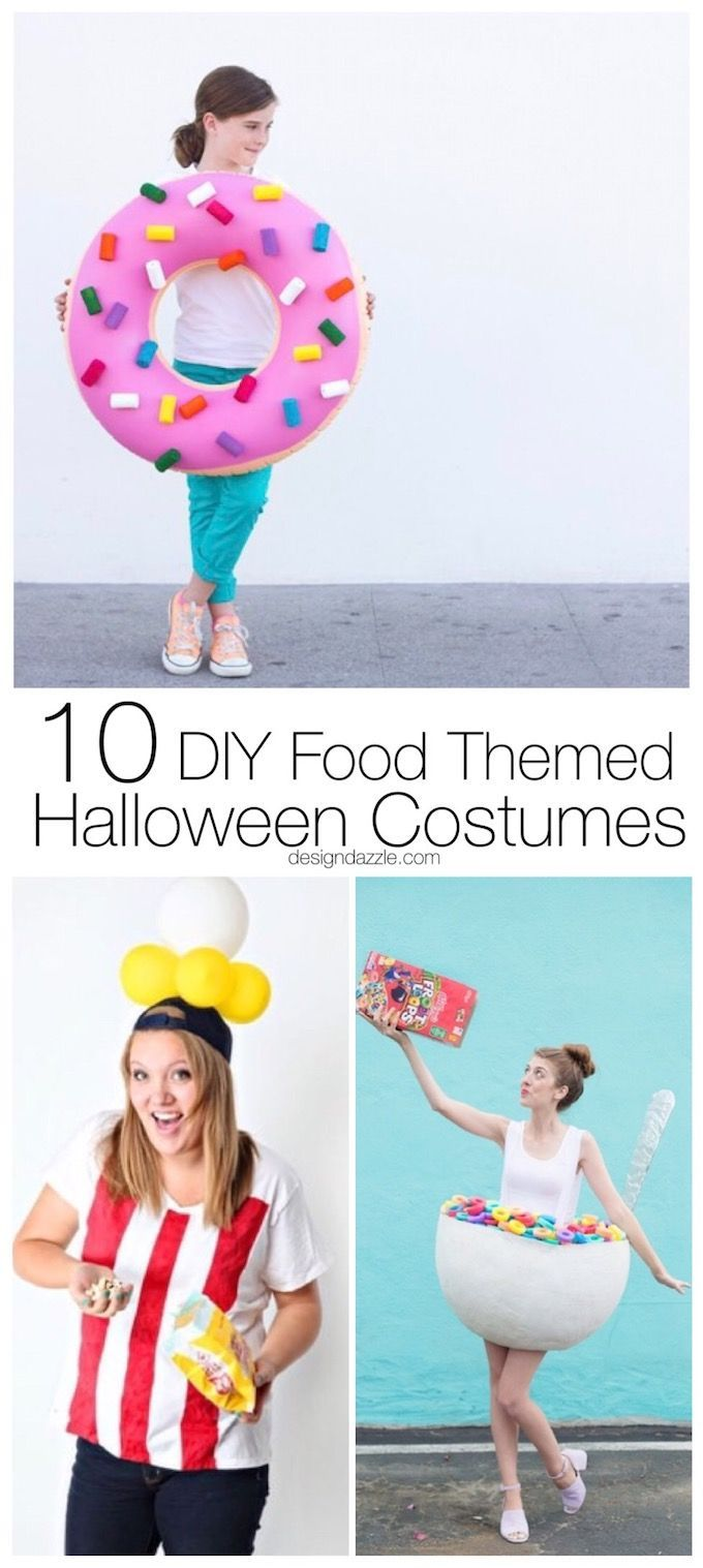 10 Incredibly Cute and Creative DIY Food Themed Halloween Costumes ...