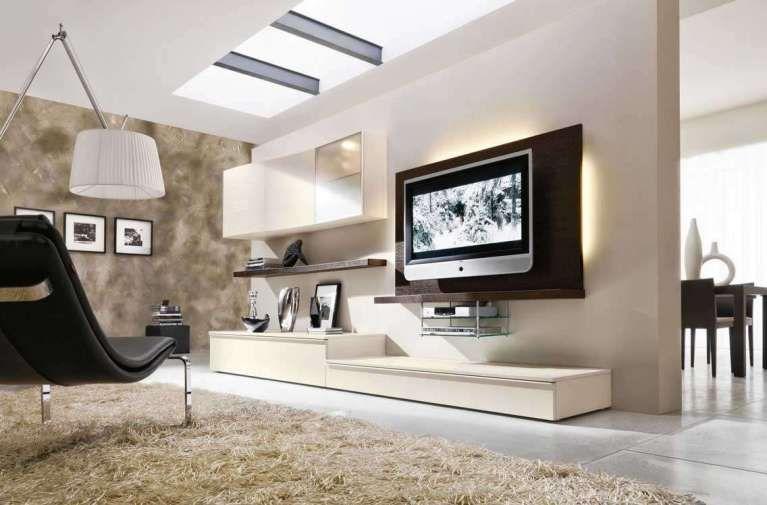Arredare il soggiorno con il color tortora - Soggiorno elegante