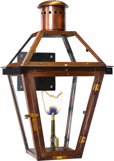 bevolo french quarter light on original bracket available in