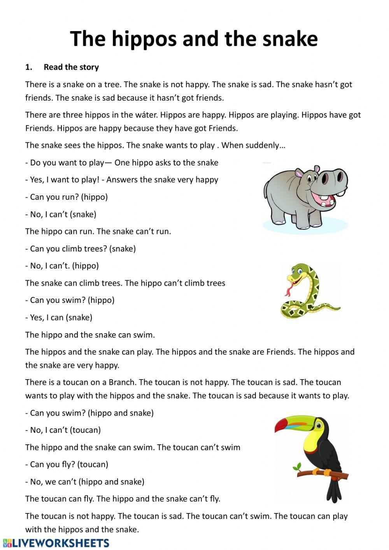 Reading Comprehension Interactive Worksheet Reading Comprehension Reading Comprehension Activities Close Reading Comprehension [ 1413 x 1000 Pixel ]