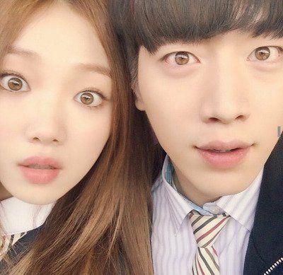Lee Sung Kyung And Seo Kang Joon With Their Unusual Hazel Eye Colour Seo Kang Joon Lee Sung Kyung Sung Kyung