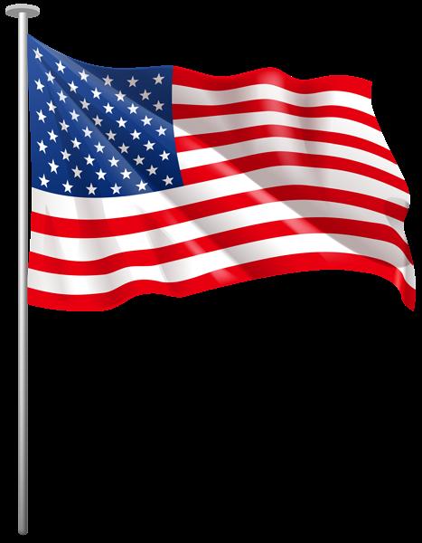 Download American Flag Waving Png - American Flag Flying