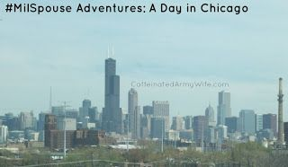 Ramblings of a Caffeinated Army Wife: A day in Chicago! #MilSpouse Adventures #Travelin4Coffee