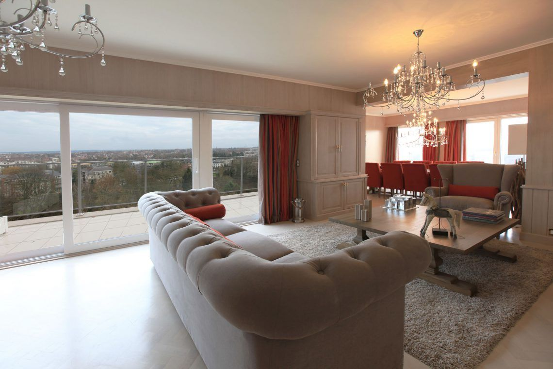 Marcotte Style interieur ontwerper - Penthouse strak landelijke ...