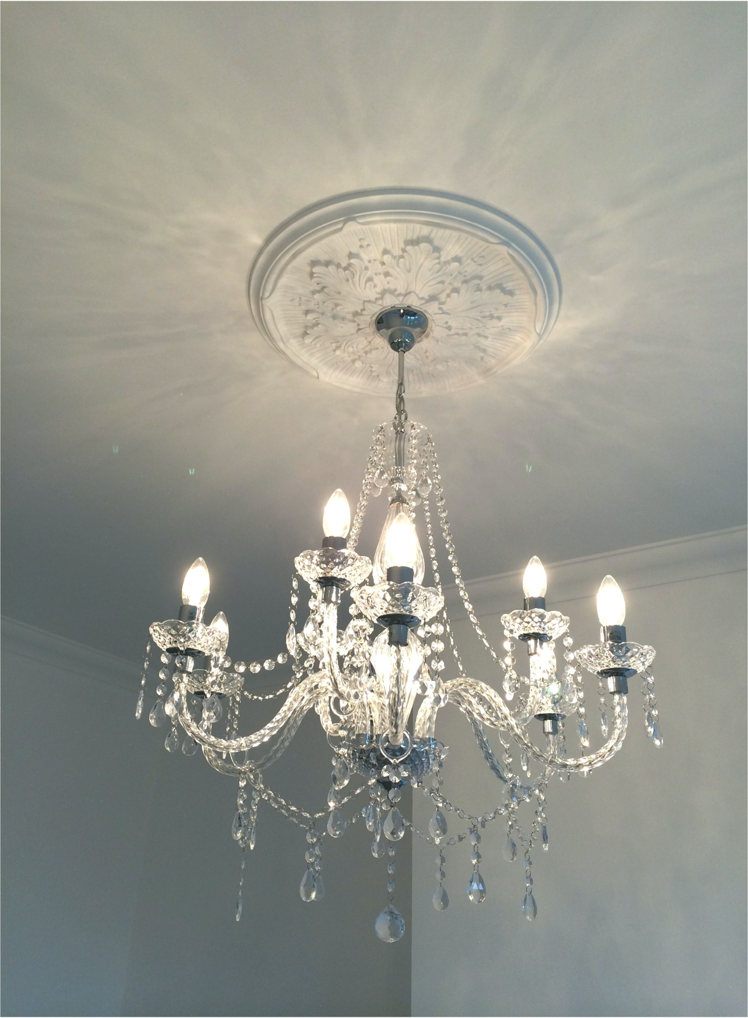 Victorian Ceiling Rose And Chandelier Victoriangothichomedecor Ceiling Chandelier Decor Gothic Goth Ceiling Rose Chandelier Makeover Victorian Chandelier