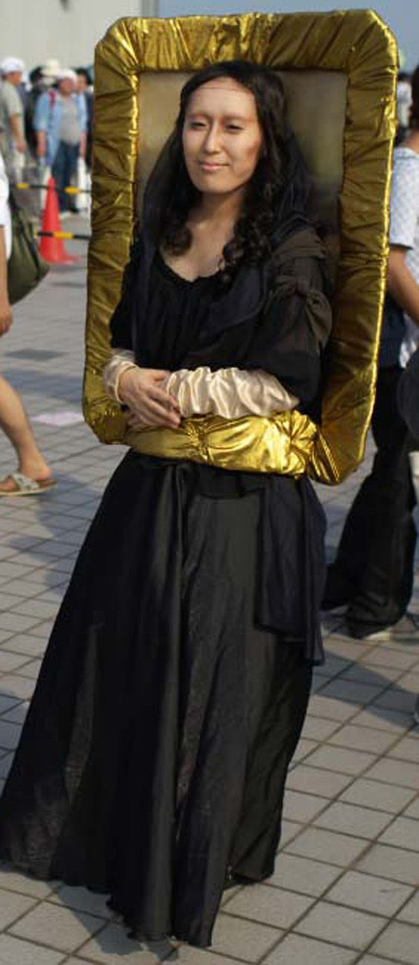 This website has great art inspired costume ideas, Mona Lisa by ...