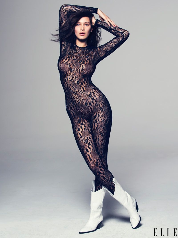 Bella Hadid Rocks Sexy Looks for ELLE | fashion | Bella ...
