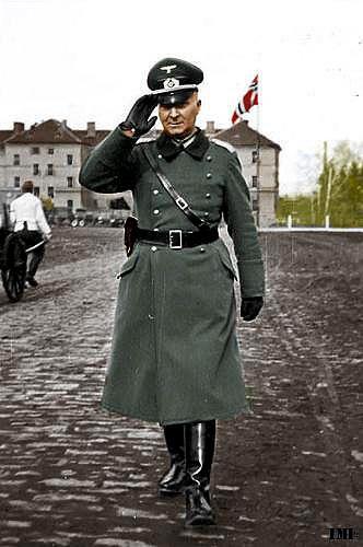 wehrmacht officer in winter service uniform worlds best