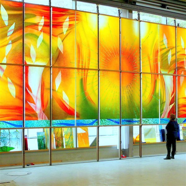 Sarah Hall Studio | Portfolio | Stained glass | Pinterest | Glass