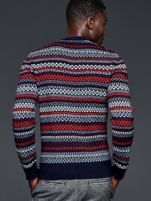 Multi fair isle stripe sweater | Gap | Sweaters | Pinterest | Fair ...