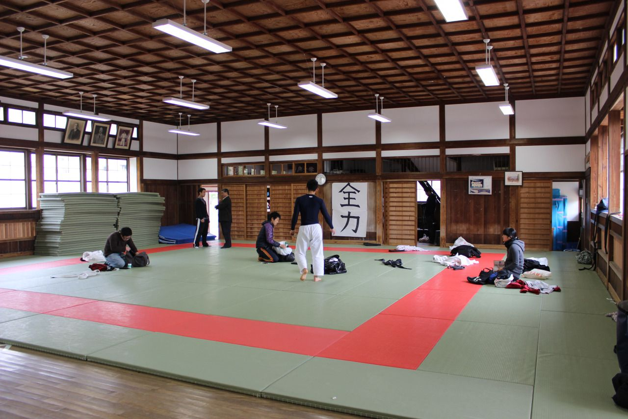 Inside The Judo Dojo After Practice Martial Arts Gyms And