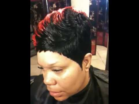 Pin By Sheyrale Moore On Short Hairstyles Quick Weave Hairstyles Short Hair Styles Quick Weave