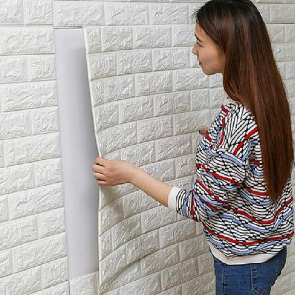 3d Brick Wall Sticker Waterproof With Glue Sale Price Reviews