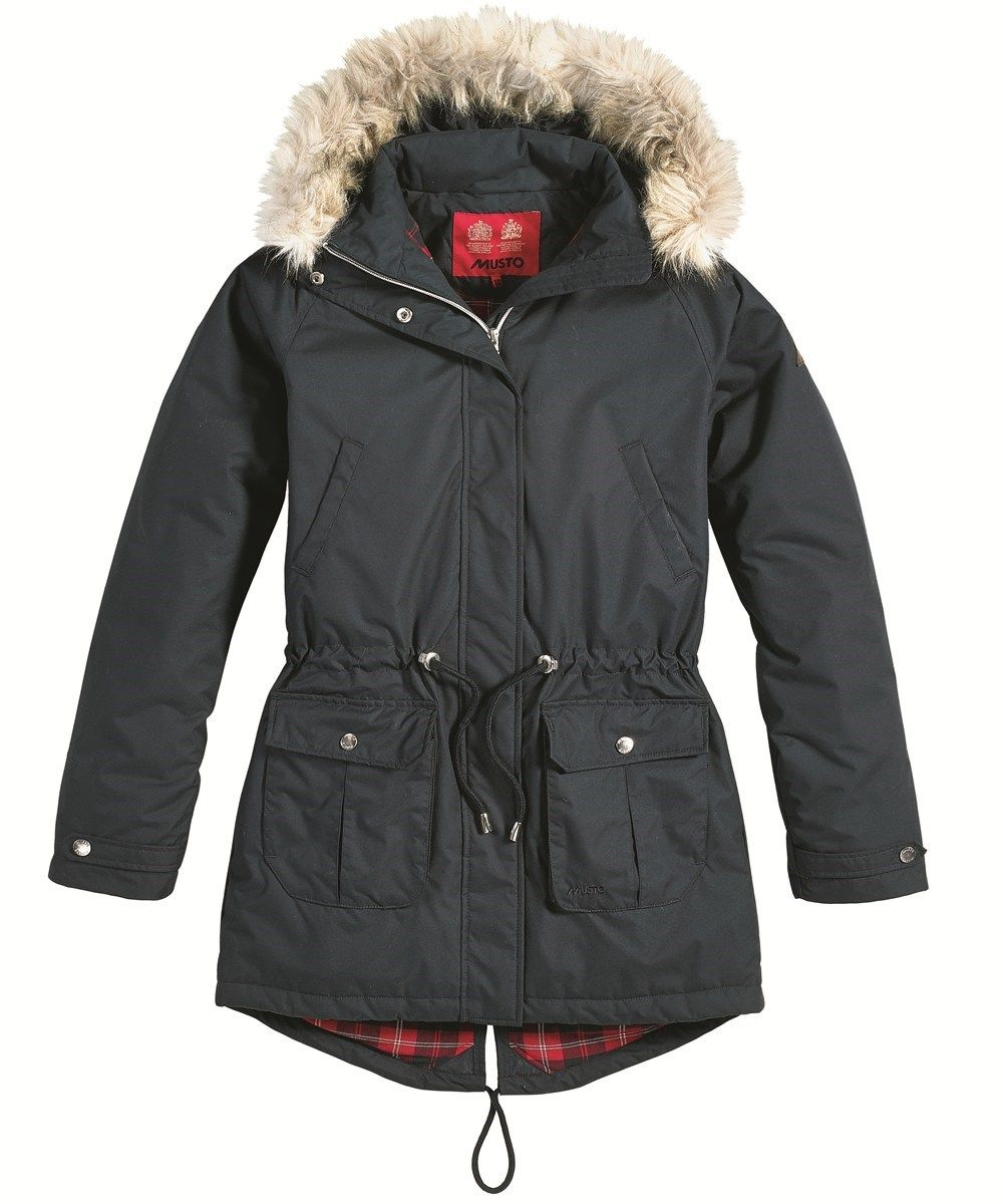 Womens Musto Cleveland Winter Parka - Navy