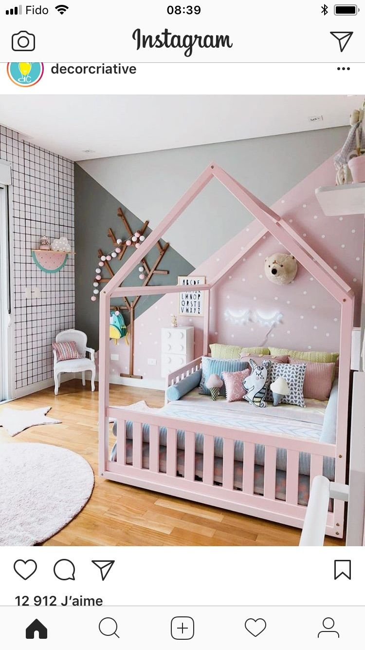 pingl par gill dufresne sur nursery kids room girls bedroom et kid beds. Black Bedroom Furniture Sets. Home Design Ideas
