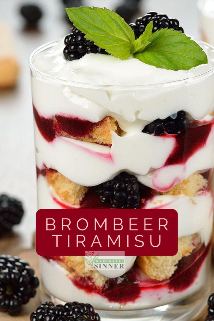 Brombeer Tiramisu