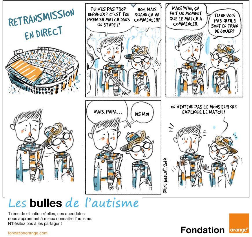 bande dessinee autisme
