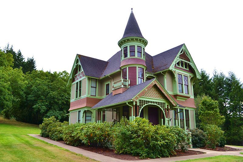 Charles and Anna Drain House in Drain, OR (CS2 #37)