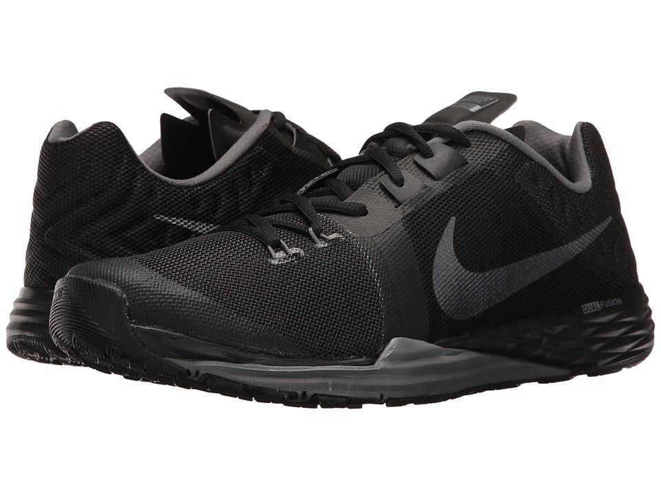 Nike Train Prime Iron DF Men's Cross Training Shoes Black/Metallic  Hematite/Dark Grey