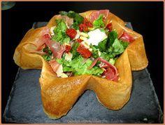 Cissou ou la cuisine du bonheur ! : Salade italienne dans sa feuille de bricks