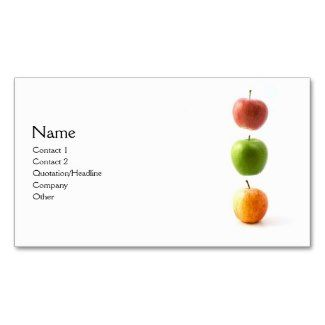apples to apples card template