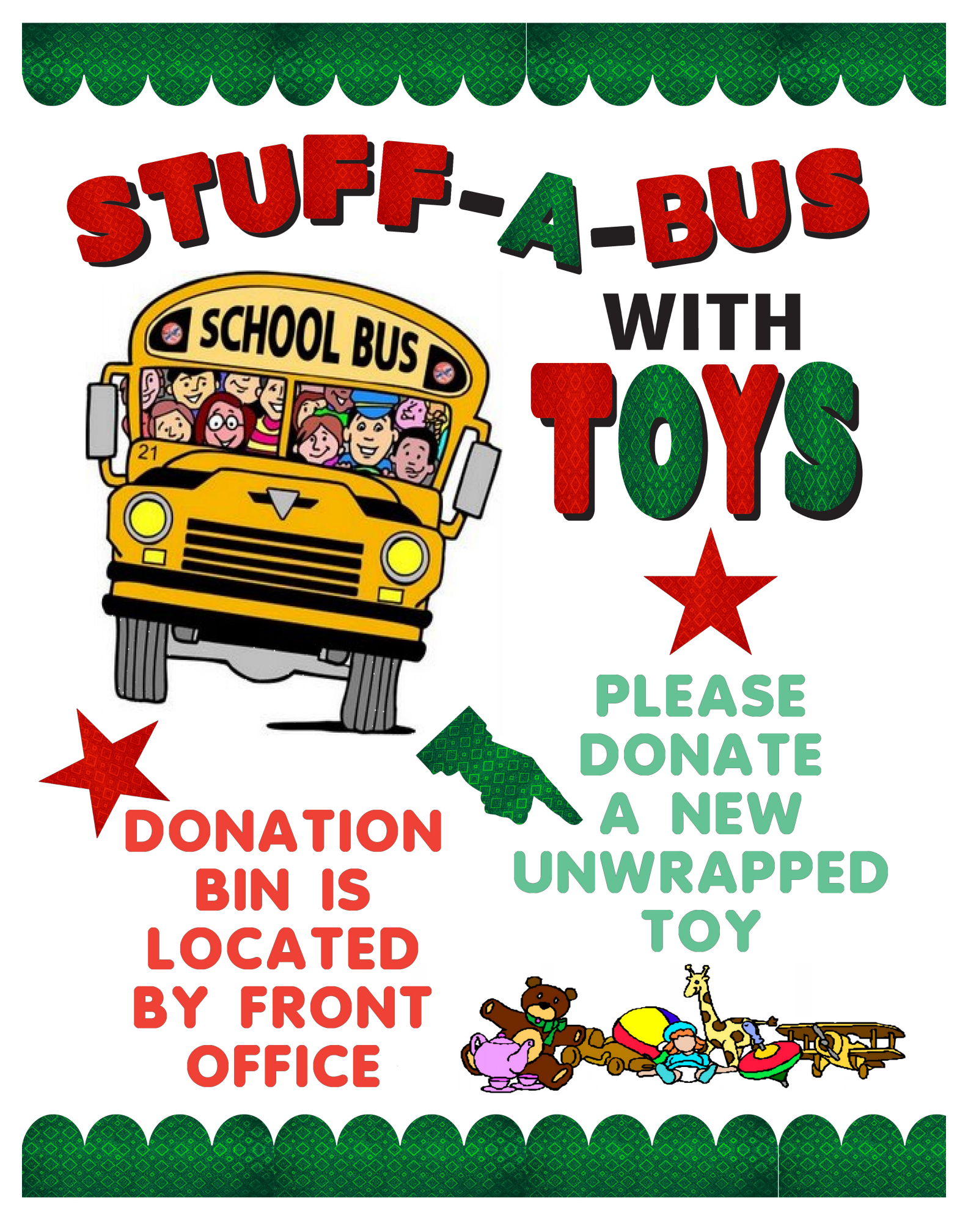 Holiday Toy Drive Fundraiser Poster Ideas Fundraising