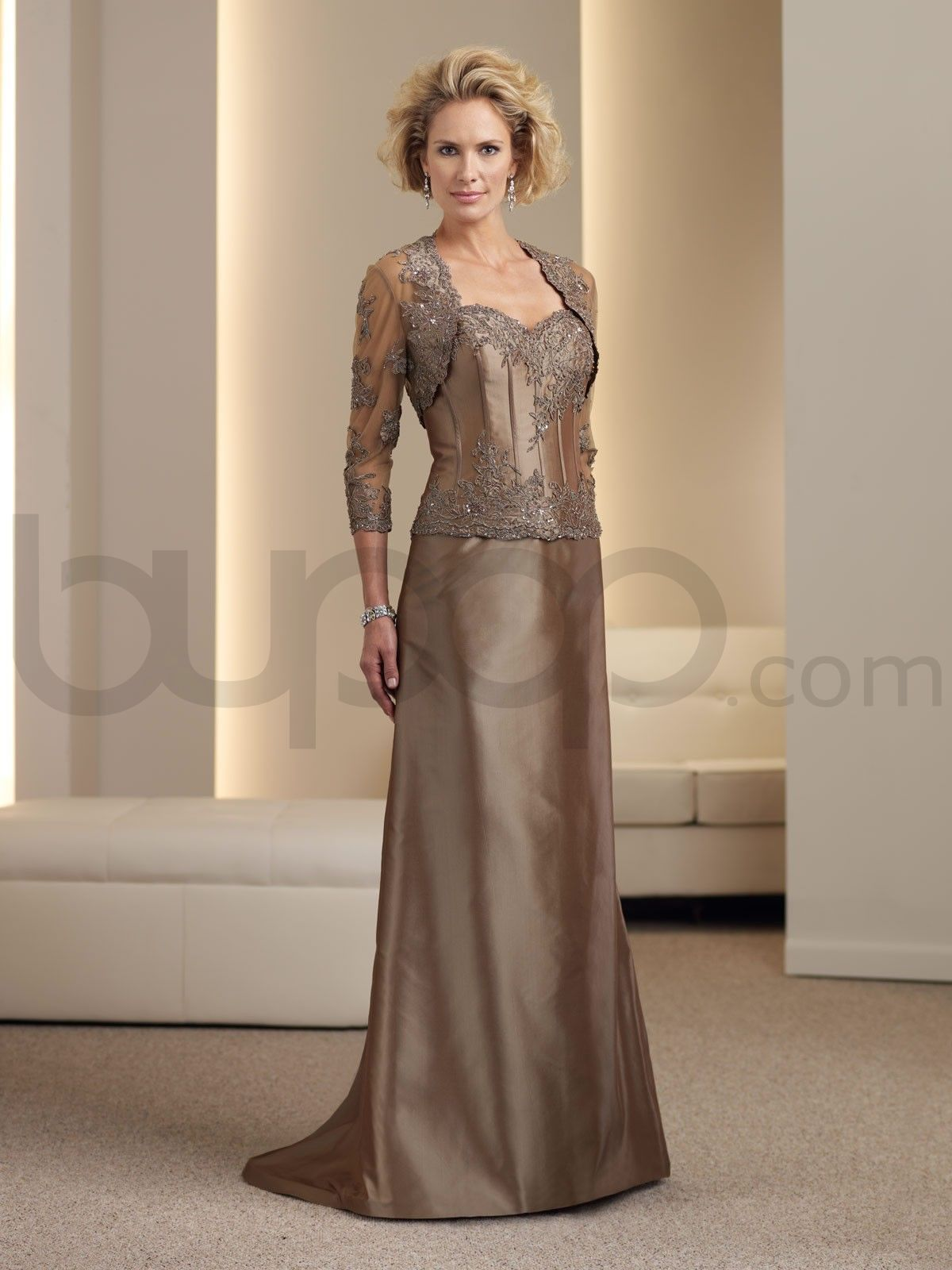 Mother Of The Bride Dresses | ... Boned Bodice Sweetheart Neckline ...