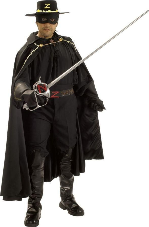 Adult Men\u0027s Zorro Grand Heritage Costume (Size 44-46)   - 2016 mens halloween costume ideas