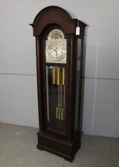 Grandfather Clock Tagged The Herschede Hall Clock Co Cincinnati Ohio U S A Panama Pacific International Exposit Grandfather Clock Clock Antique Wall Clock