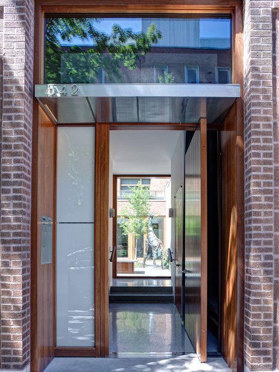 Modern Front Door Awning