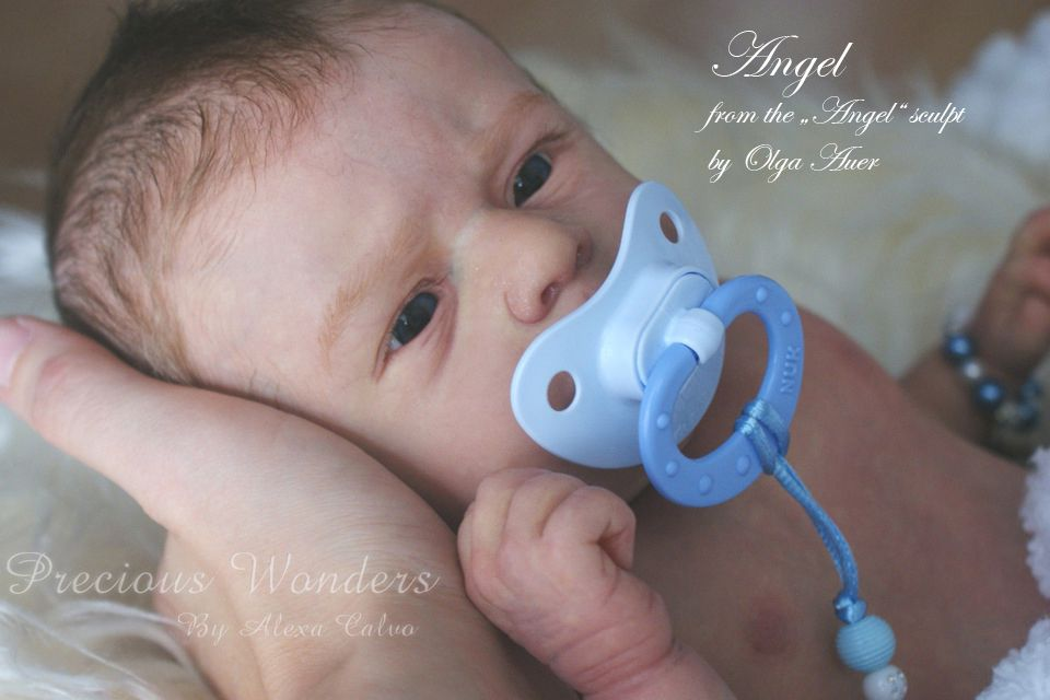 Precious Wonders By Alexa Calvo Reborn Baby Boy Angel Limitted Edition Reborn Baby Boy Newborn Baby Dolls Reborn Babies